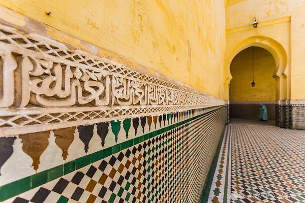 Royal Palace in Meknes.