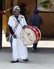 Rabat:  Drummer, Chellah Necropolis