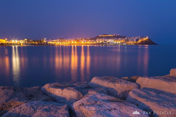 Ceuta during blue hour