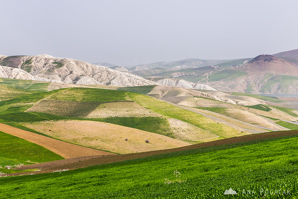 On the road from Fes to Chefchaouen