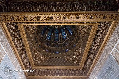 Ceiling Above Tomb of  Mohammed V