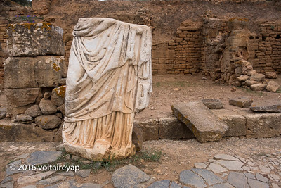 Remnant  of Roman Influence in Morocco - Chellah, Morocco