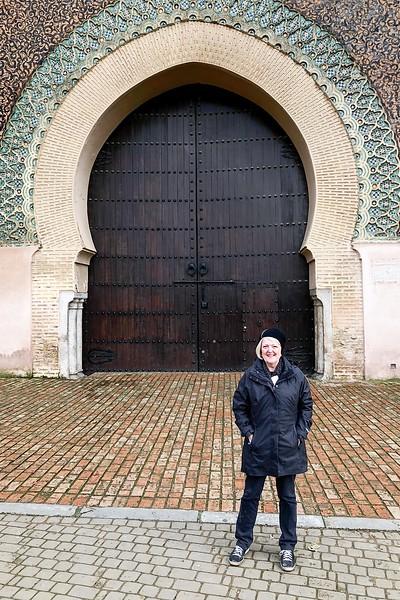 Historic gate-Meknes