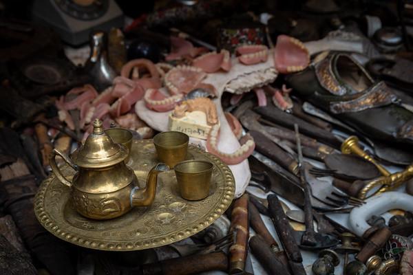 Market stall - Marrakech, Morocco