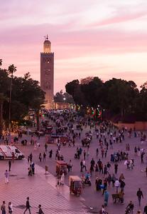 Koutoubia Mosque - Marrakech, Morocco