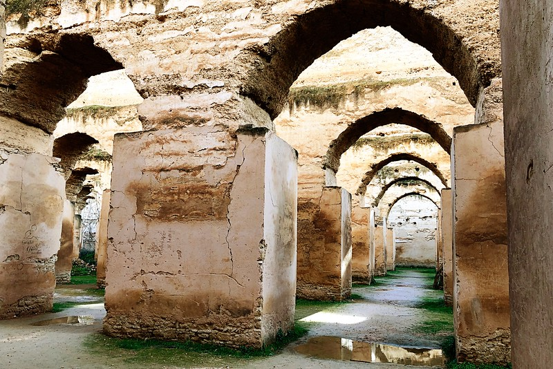 Stables of Moulay Ismail-Meknes