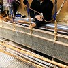"Weaving with the agave ""silk"""