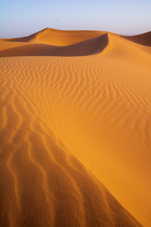 Sunrise over the Saharah Desert, Morocco