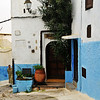 A home within the medina of Rabat, Morocco