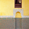 Mosque of the Mausoleum Moudray Ismael, Meknes, Morocco