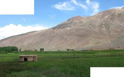 The hillside in Ait Bougamez.