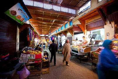 Friday is a holy day in Islam, alot of shops were closed in the medina.