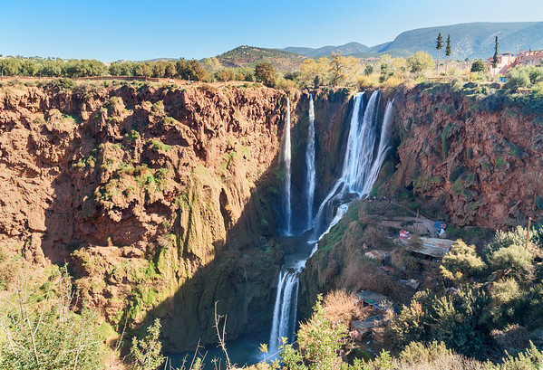Day tours from Marrakech to Ouzoud waterfalls