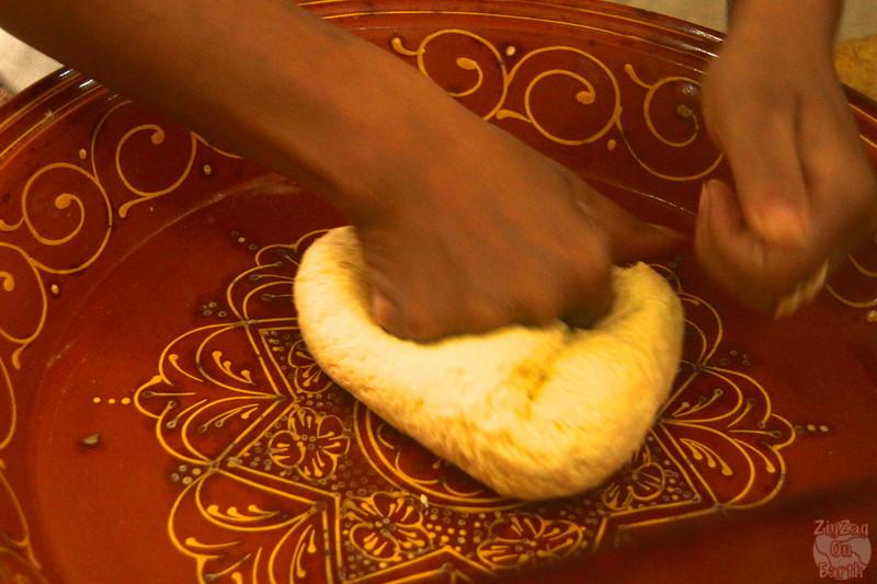 Cooking Class Marrakech - crepes dough