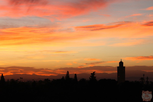 Sunrise over the Koutoubia