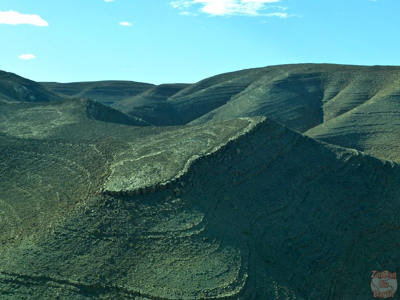 Draa valley - geological formations, Morocco 2