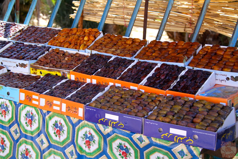 Draa valley - date market, Morocco