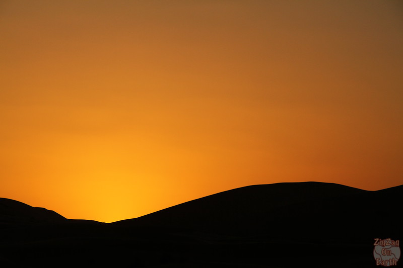 Sahara sunset 3