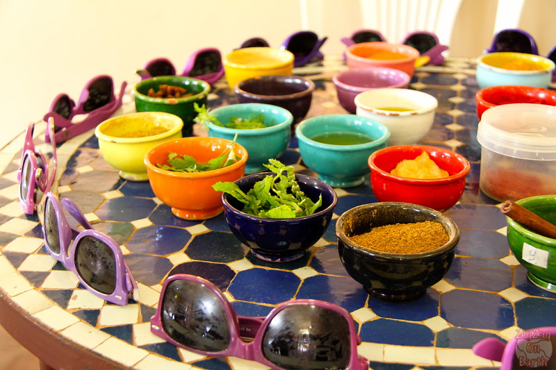 Cooking Class Marrakech - spice lesson