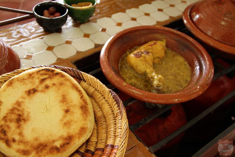 Cooking Class Marrakech - tajine 3