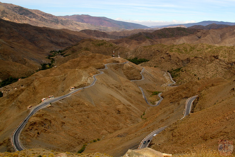 Drive through the Atlas Mountains - Morocco 4