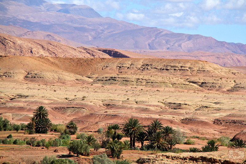 Ait Benhaddou scenery Morocco 2