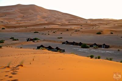 Camp auberge la Caravane, Sahara Morocco