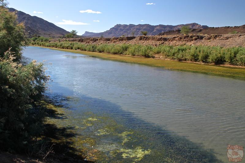 Draa river, Morocco