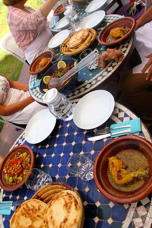 Cooking Class Marrakech - eating