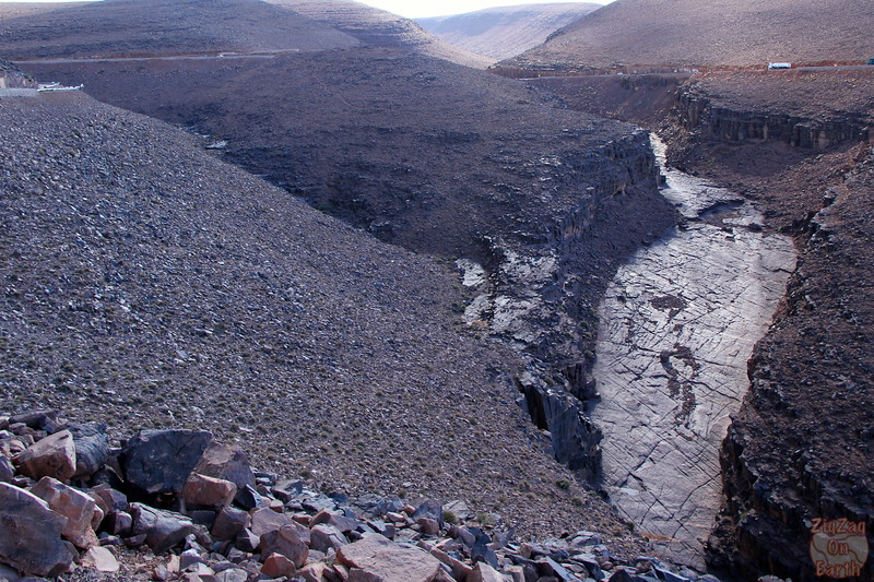 Draa valley - geological formations, Morocco 4