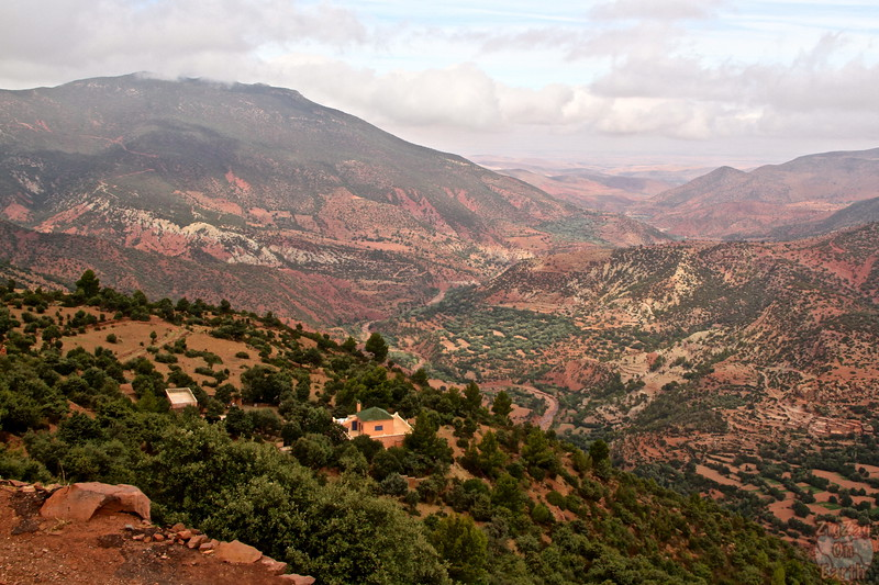 Drive through the Atlas Mountains - Morocco 1