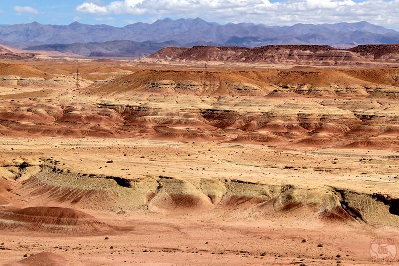 Ait Benhaddou scenery Morocco