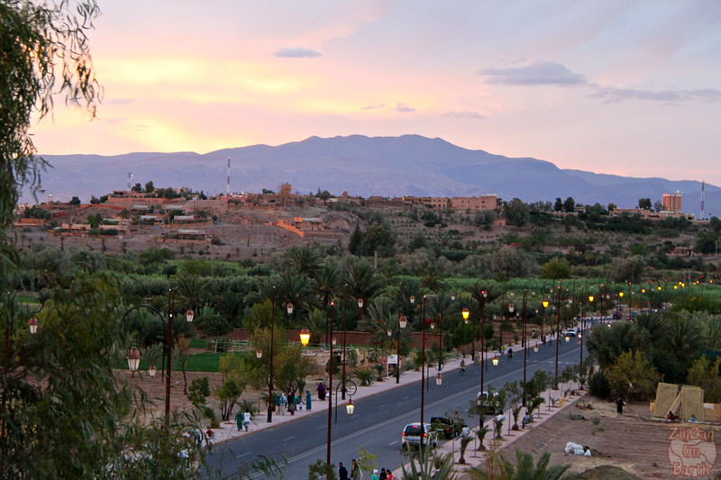 Ouarzazate sunset