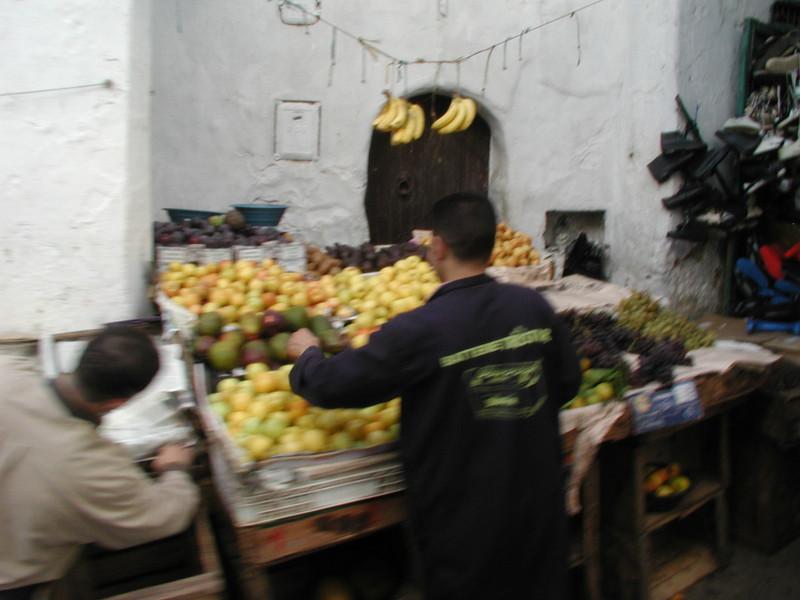 Fresh fruit sales