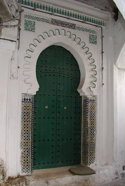 Numerous colourfull doors, originally built as fortified gates for each house