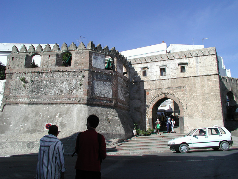 Tetuan, old Spanish Kasbah (Castle)