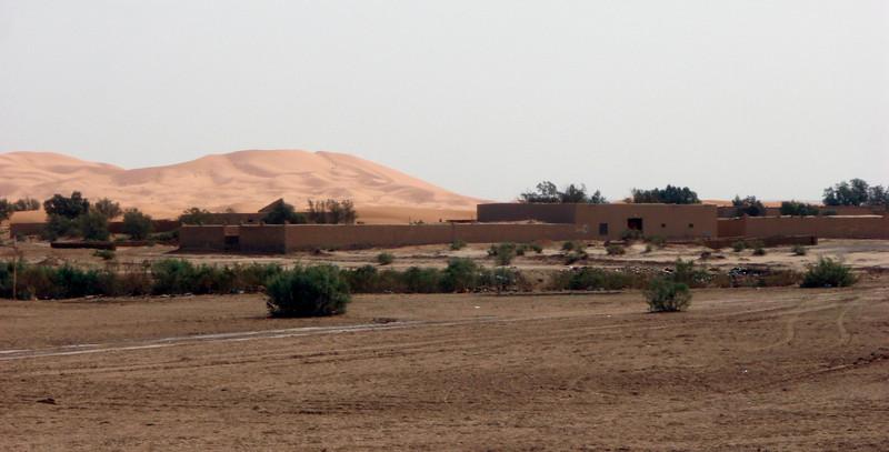 Merzuga village