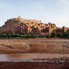 A magnificent view of 1200 year old caravan city in the desert