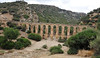 Old Roman aqueduct near Moulay Idriss. This was to serve the Roman city of Volubilis nearby