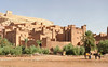 "Ait Ben Haddhou (translates to ""Home of the Son of Haddhou""), an ancient caravan stopover near Ouarzazate, east of the High Atlas Mountains. Said to date from 12th Century"