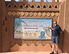 """Zagora. One of the iconic """"Been there, done that"""" monuments for adventure travellers. It means """"52 days to Timbuktu"""", by camel caravan"""