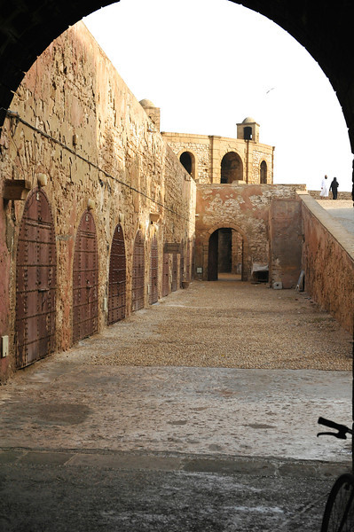 Military storage accessing the fortress walls
