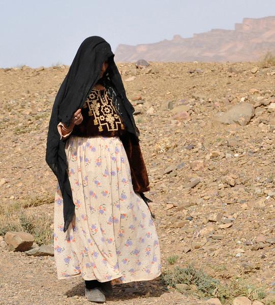 Berber woman near Zagora