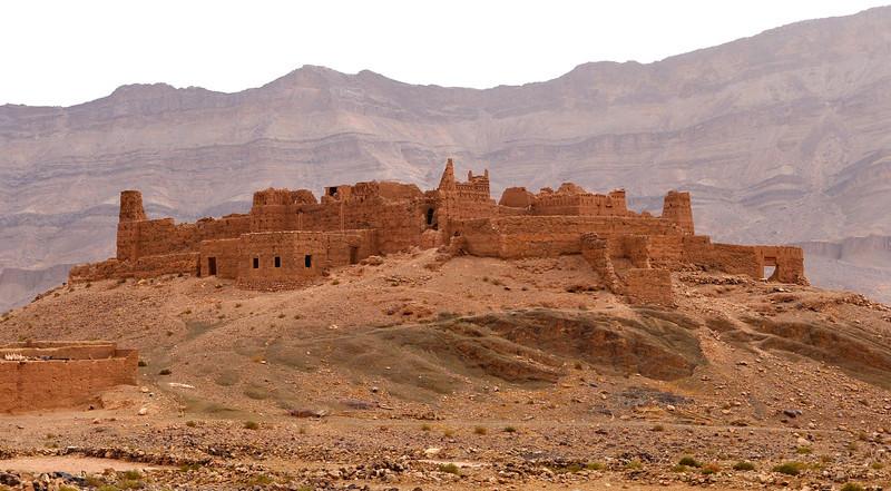 Ancient Moroccan Kasbah ~ Fortress near Djorbel S'horra