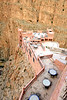 The previous photo can ONLY be captured from the furthest out tower at this cafe in the Dades Gorge