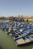Essaouira fishing harbour, outer docking