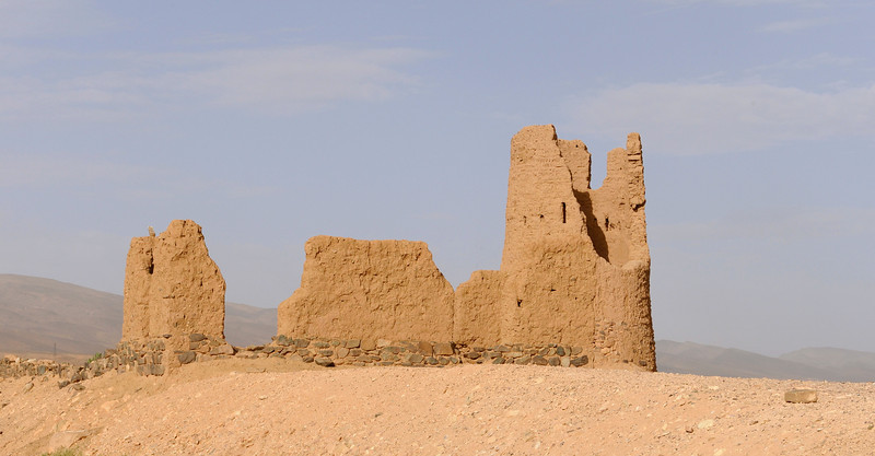 Ancient outpost ruins near Agdz