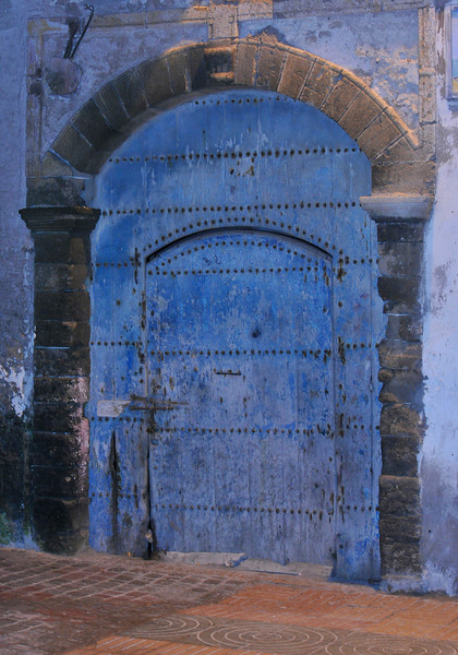 This blue is very common in all of Morocco