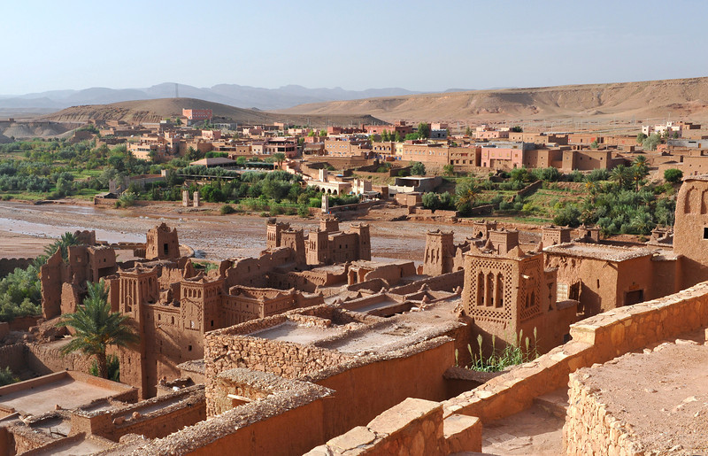"""The proximity of this ancient town to the movie studios in Ouarzazate (""""Hollywood Africa"""") make this a favourite for filming medieval & desert scenes"""