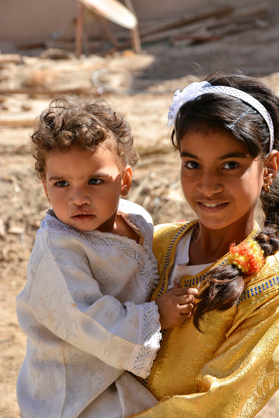 Sisters, Rissani, Morocco